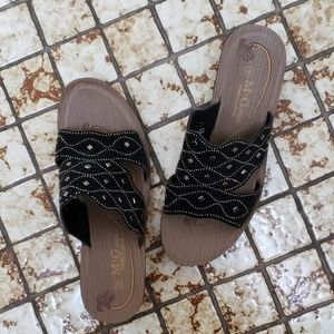 size 9 bling sandals
